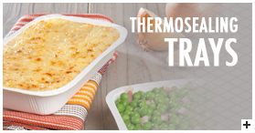 Thermosealing trays